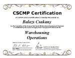 Balazs Certification