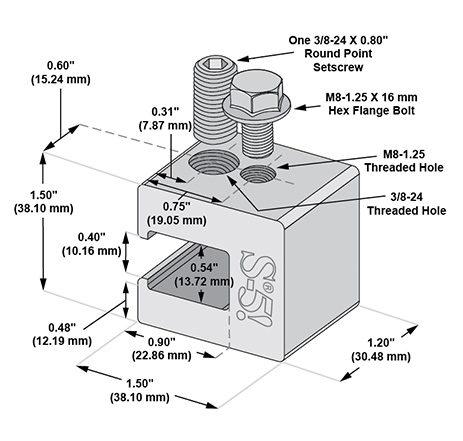 S-5-H90 mini dimensions