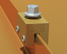 S-5! Non-Penetrating Double Folded Copper Roof 