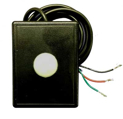 ACT Hard-Wired Motion Sensor, for use with D'MAND KONTROL System - Model HWMSRB-B Black