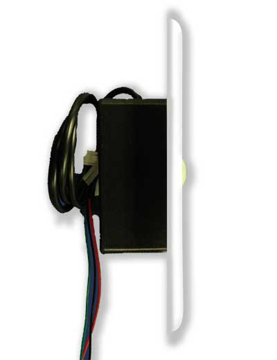 ACT Hard-Wired Motion Sensor, for use with D'MAND KONTROL System - Model HWMSRB-PW