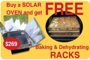 Free solar oven racks