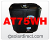 AT75WH AquaTherm Whisper Heat Pump Pool Heater with Titanium Heat Exchanger. 72,000 BTUs