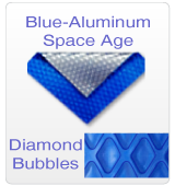 Blue/Aluminum Diamond