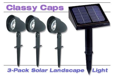 Classy Caps Solar Light