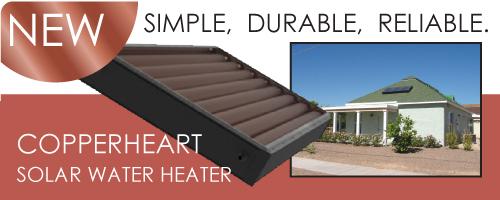 Copperheart Solar Water Heater