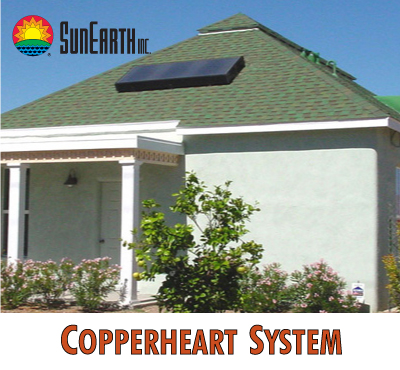 CopperHeart solar water heater