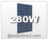 Hyundai 280 Watt Solar Module. Discounts are available for larger quantities - as low as $1/W. Free Shipping