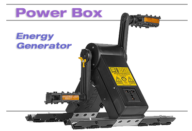 Power Box Pedal Power Generator