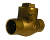 CLEARANCE: B16.18 Legend Brass Swing Check Valve - Sweat end connections