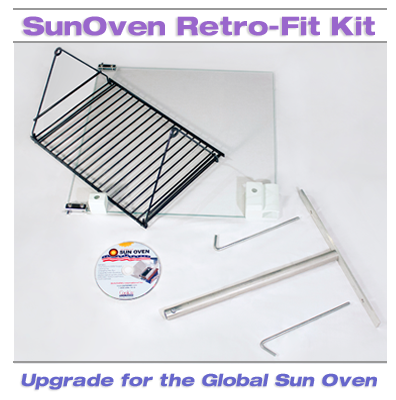 Retro-Fit Kit. An upgrade for the Global Sun Oven