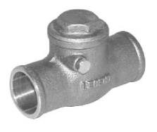 Legend Brass Swing Check Valve