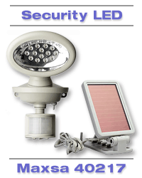 Maxsa Solar Security Light