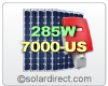 SolarWorld Grid-Tie Solar Electric System with 285W Panels & Sunny Boy 7000TL-US Central Inverter. 3.7 to 7.98 kW. FREE SHIPPING
