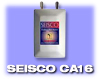 Seisco Tankless Electric Water Heater 2 Chamber Model: CA-16, 240 Volt - FREE SHIPPING<br>Sales final, no return or refunds