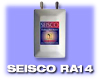 Seisco Tankless Electric Water Heater. Application: Single Bath. Model RA-14, 240 Volt - Free Shipping in Contiguous US