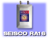 Seisco Tankless Electric Water Heater. Application: Single Bath. Model RA-16, 240 Volt - Free Shipping in Contiguous US