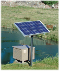 solaer solar powered lake and pond aeration system solaer solar pond aerator