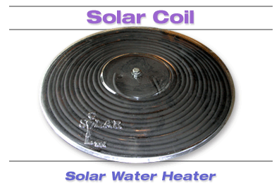 Solar Coil Water Heater