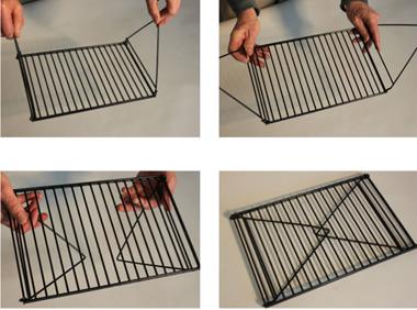 Solar Oven Leveling Rack