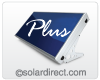 SolPal L Plus - ICS Passive Solar Water Heater - Single Collector Panel with Mounting Hardware Options.