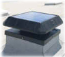 Solar attic fan curb base