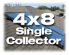 AET AE Collector - Active Solar Water Heater Panel with Mounting Hardware - One 4 x 8 Collector