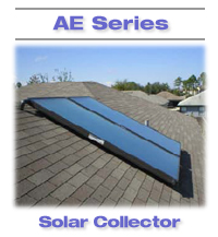 4 x 10 AE solar collector