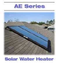 AE Series solar water heater