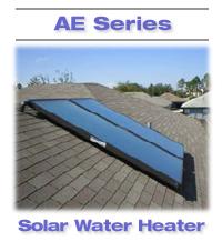 AE Series solar water heater