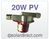 El Sid Solar Circulating Pump, 20W 12 Volt PV, Stainless Steel Model SID20PVSS *Out of Stock*