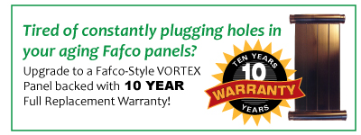 Fafco-Sytle Vortex Panels