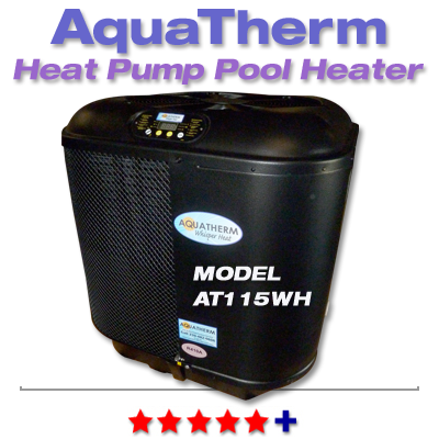 Heat Pump Pool Heaters - Aquatherm - AT115