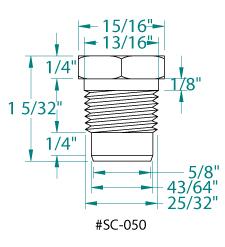 Goldline Hayward 189 Npt Screw In Sensor