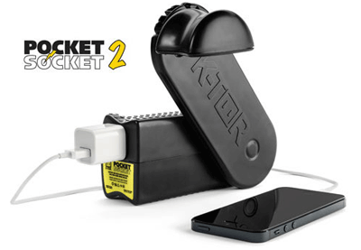 Pocket Socket Energy Generator and Charger
