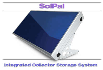 SolPal ICS Solar Water Heater