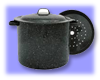 Sun Oven 4 Quart Stock Pot with Steamer Insert