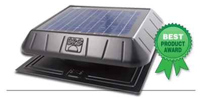 SunRise Solar Attic Fan