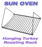 Turkey Roaster rack for the solar oven