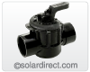 "Pentair 2-Way Diverter Valve 2.0"" CPVC For Manual Solar Control - Part: 263027"