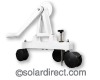 Rocky's Eazy Rollers Senior Frame Only (Ends) - Commercial Grade/Low Profile, Portable; uses Caster Wheels. Strap Kit Included. Free Shipping Included to U.S. & Canada