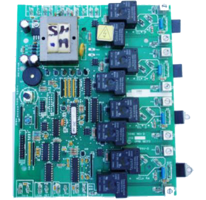 Seisco Circuit Board - For RA Series Four Chamber Heaters - Model SA-PCB4-RA
