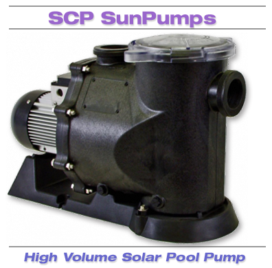Solar Powered Pool Pump by SunPumps