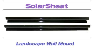 SolarSheat Landscape wall mount