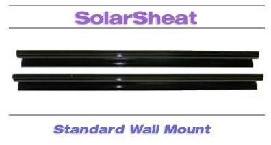 SolarSheat standard wall mount