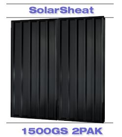 solarsheat 1500 GS