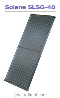Solene Aurora Solar Collector