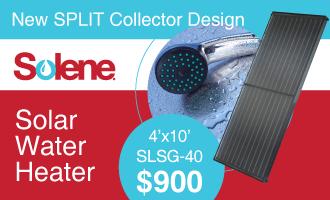 Solene Solar Water Heater