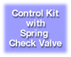 Differential Control Kit with Spring Check Valve. Model CK-D-S