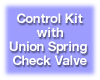 Differential Control Kit with Union Spring Check Valve. Model CK-D-U